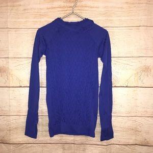 Lululemon women's sz small purple blue long sleeve